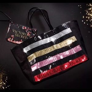 Victorias Secret Black Friday Promo Sequin Tote